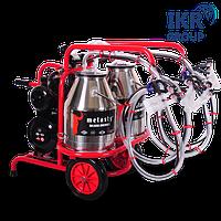 Доїльний апарат для чотирьох овець в два відра Melasty TKKY 4-2 PS