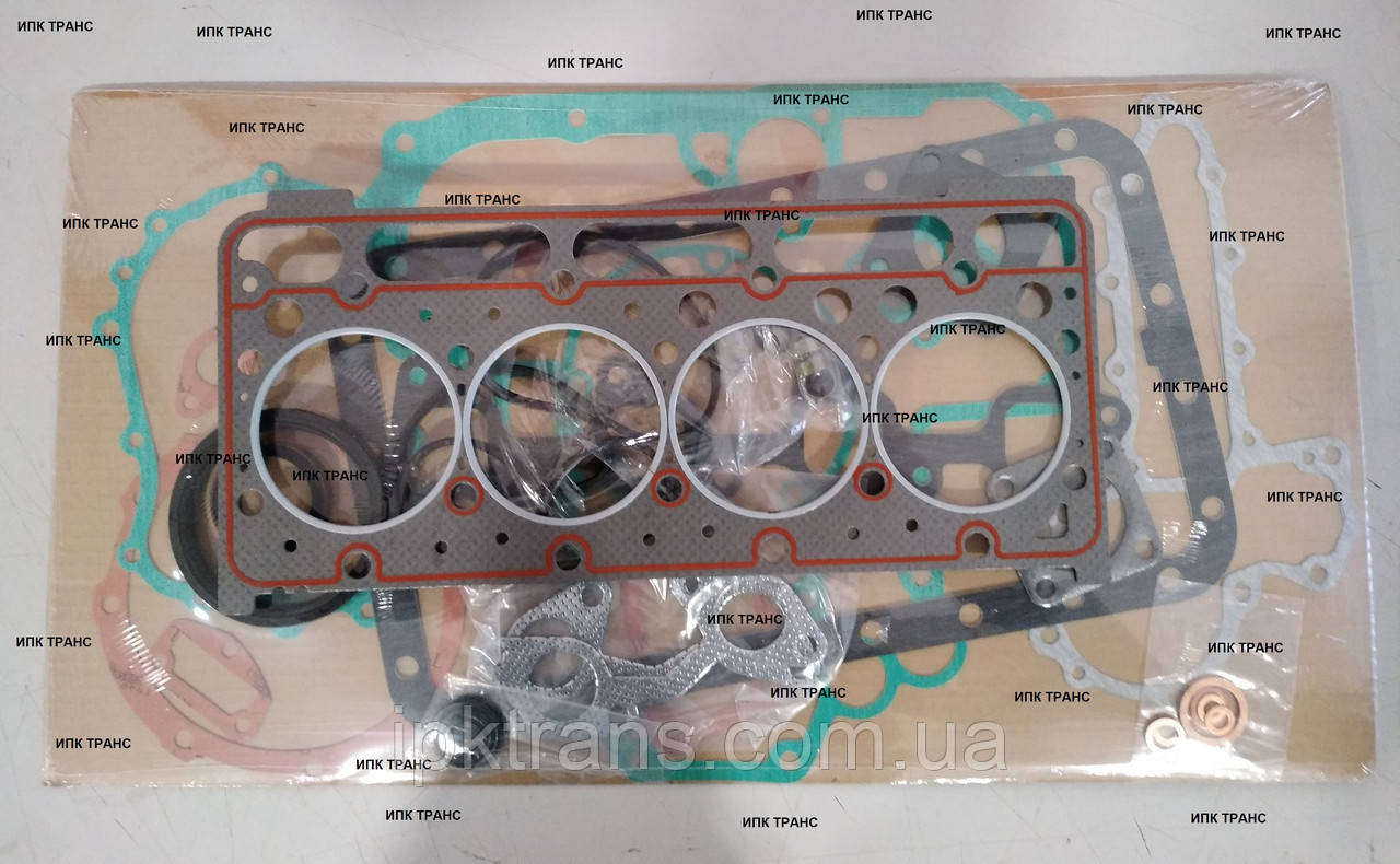 Прокладки двигуна Kubota V2203; Vector 1800; Vector 1850; Vector 1850Mt