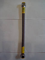 Трубки для газа Gross из гофрированной нержавейки гайка гайка 100 см