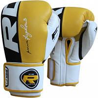 Боксерские перчатки RDX Yellow Pro