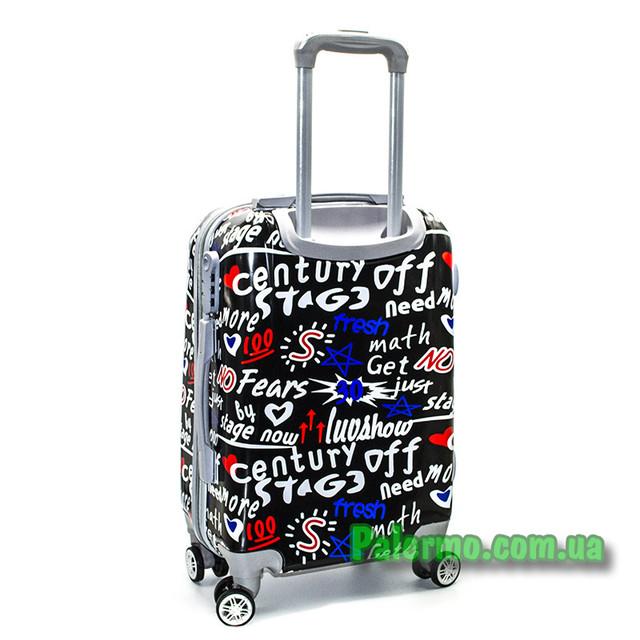 пластиковый дорожный чемодан No Fears