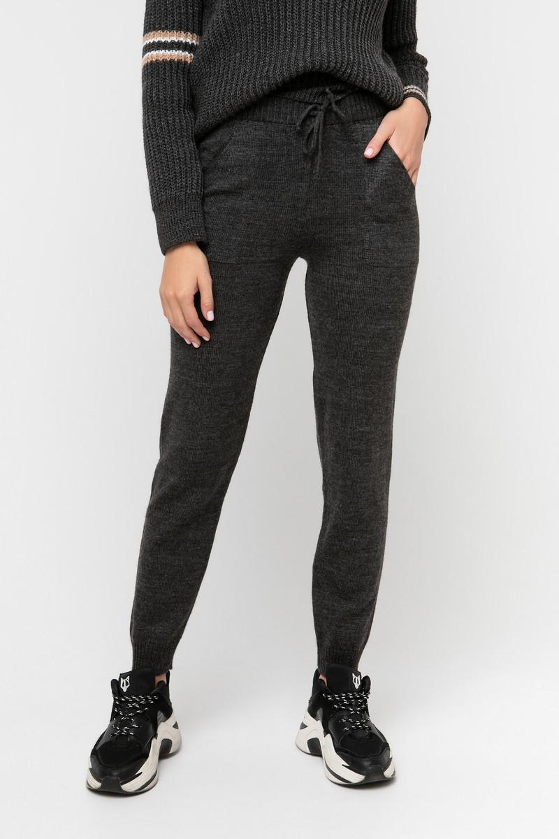 Теплые женские зимние лосины штаны брючки