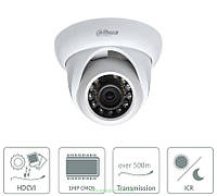 Камера видеонаблюдения HDCVI Dahua DH-HAC-HDW1100SP на 1 Мп