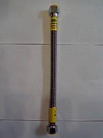 Трубки для газа Gross из гофрированной нержавейки гайка гайка 300 см