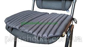 Ортопедическая подушка для сидения черная
