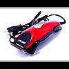 Машинка - триммер для стрижки волос Gemei GM-1025 4 в 1 красная, фото 4