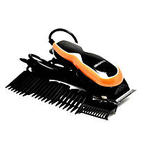 Машинка - триммер для стрижки волос Gemei GM-817 с насадками, фото 2