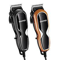 Машинка - триммер для стрижки волос Gemei GM-817 с насадками, фото 3