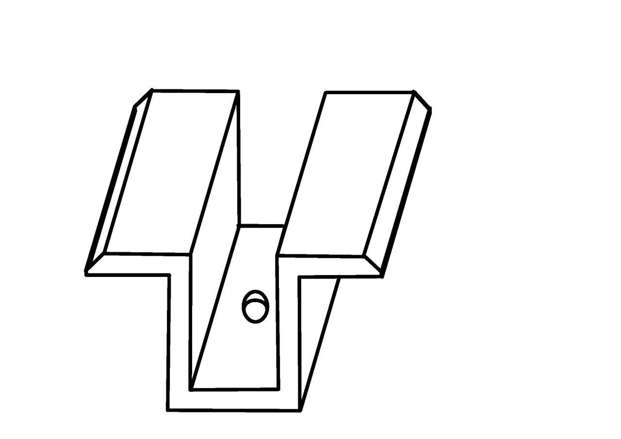 Прижим межмодульный ПМО - 40