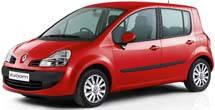 Фаркопы на Renault Modus (2002-2008)