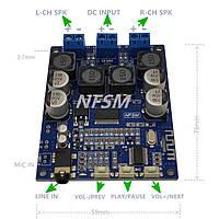 NEW TPA3118 підсилювач 30 Вт * 2 із AUX Bluetooth 5.0 плеєр Мп3 12-24в аудіо модуль