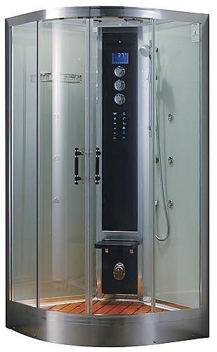 Гидромассажный бокс Grandehome WS101/S6 (белые задние стенки), 900х900х2240 мм