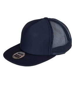 Плоская сетчатая кепка MNVN Темно-Синий / Темно-Синий