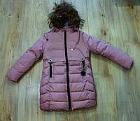 Зимове пальто на дівчинку 146. см