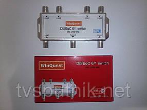 Коммутатор DiSEqC 6x1 WinQuest GD-61A