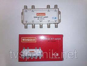 Коммутатор DiSEqC 8x1 WinQuest GD-81A
