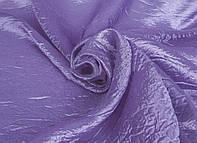 Портьерная ткань жатка фиолетового цвета