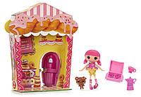 Кукла Мини Лалалупси Хрусталина из серии Королевство Сладостей (Lalaloopsy Mini Doll, Cake Dunk-N-Crumble)