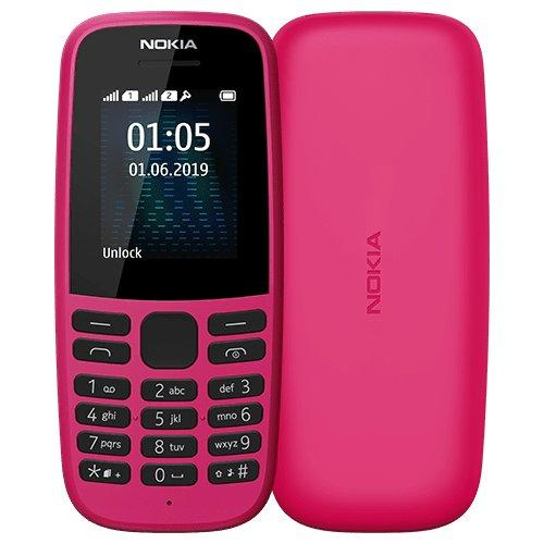 Nokia 105 Dual Sim (2019) Pink