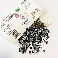 Стразы YHB Lux, цвет Crystal Cosmojet, ss16 (3,8-4мм), 100шт