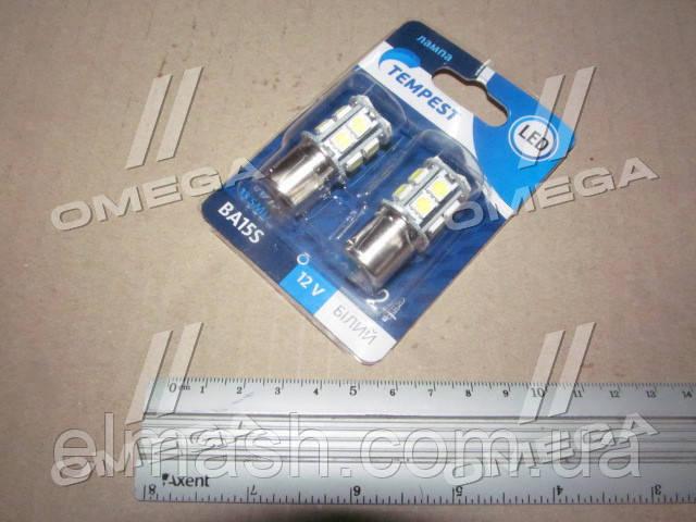 Лампа LED указателей поворотов и стоп-сигналов (12SMD) BA15S 12