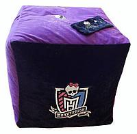 Кресло мешок пуф пуфик кубик бескаркасная мебель детская