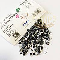 Стразы YHB Lux, цвет Crystal Cosmojet, ss20 (4,8-5мм), 100шт