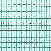 Сетка армированная BudMonster Fasad 5х5 мм, 1х50 м, зеленая