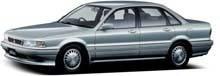 Фаркопы на Mitsubishi Galant 6 (1987-1993)