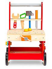Деревянная игрушка ходунки-каталка Мастерская Ecotoys, фото 2