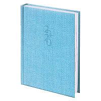 Ежедневник Brunnen 2020 карманный Tweed голубой (73-736 31 33), фото 1