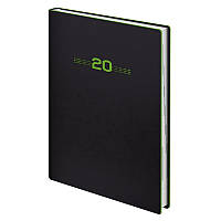 Ежедневник Brunnen 2020 Стандарт Flex Neo черный с салатовым (73-795 71 44), фото 1