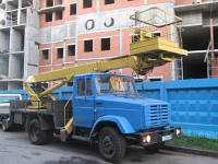 Аренда автовышки 22 метра ЗИЛ