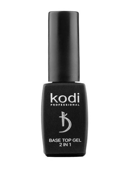 Base Top 2 в 1 (основа і фініш для гель лаку) 8 мл. Kodi