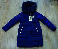 Зимове пальто на дівчинку 140. 146. 152. 158. 164. см