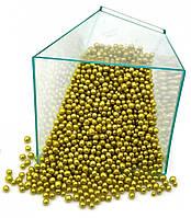 Кондитерская посыпка глазированный ВОЗДУШНЫЙ РИС 3 мм Золотой (50 грамм)