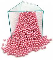 Кондитерская посыпка глазированный ВОЗДУШНЫЙ РИС 3 мм Розовый (50 грамм)