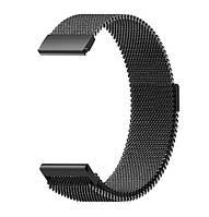 Миланский сетчатый ремешок Primo для часов Xiaomi Amazfit GTR 47 mm - Black