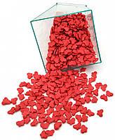 Посыпка кондитерская Бабочки Красные 50 грамм, фото 1