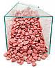 Посыпка Сердечки розовые перламутровые 50 грамм