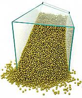Посыпка шарики золото 1 мм, 50 грамм