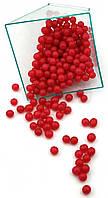 Посыпка шарики Насыщенно Красные 7 мм, 50 грамм