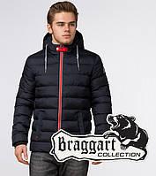 Braggart Aggressive 35228 | Зимняя мужская куртка т.синий-красный