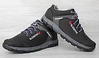 Стильні зимові чоловічі кросівки на хутрі  (Кр-19ч)