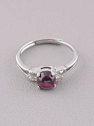 077595-999 Кольцо Гранат 1,85 г.