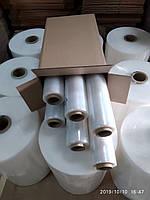 Стретч плівка для ручного пакування 12 мкм 2,2/2,4 кг прозора, первинна, фото 1