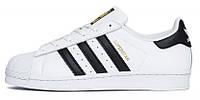 """Мужские кроссовки в стиле Adidas Superstar """"White/Black""""  ( в стиле Адидас)"""