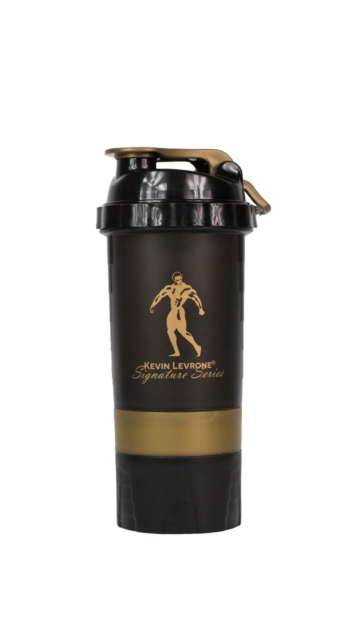 Шейкер для спортивного питания Kevin Levrone Smartshake Black 500 ml
