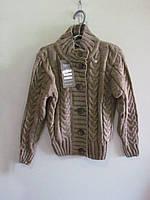 Кофта для девочки шерстяная на пуговках, упаковка 4 штуки, размеры от 8 до 16 лет