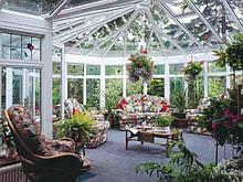 Зимові сади, Зенітні ліхтарі